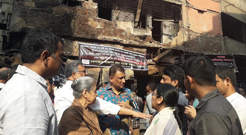 Solidarity Visit to Chawkbazar (2)