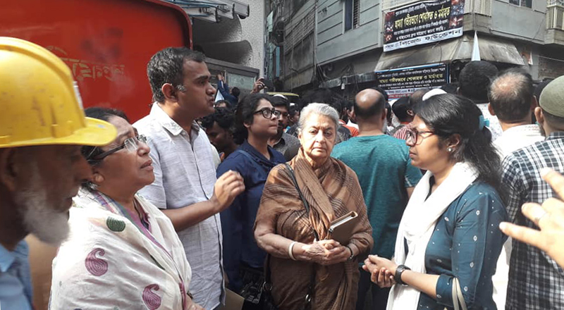 Solidarity Visit to Chawkbazar